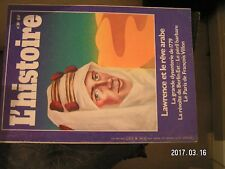 **a L'Histoire n°39 Berlin Est 1953 Dysenterie de 1779 Lawrence et le rêve arabe
