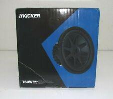 New listing Kicker 44Cvx122 750W Rms Cvx12 12 Inch Compvx 2-Ohm Car Subwoofer *Read*