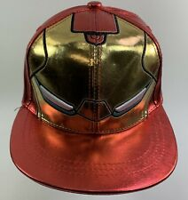 Boys Girls Kids Official Avengers Iron Man Face Winter Hat One Size 4-8 Years
