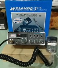 MIDLAND ALAN 48 BSX RICETRASMETTITORE 27 MHZ VEICOLARE AM-FM 40 Canali