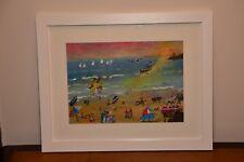 Typical Cornish Beach scene - original artist