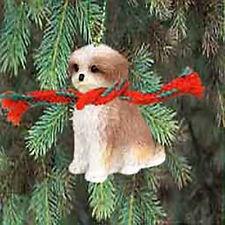 Conversation Concepts Shih Tzu Puppy Cut - Brown & White Original Ornament
