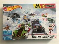 2018 Hot Wheels Advent Calendar In Sealed Original Package in Nice Shape.