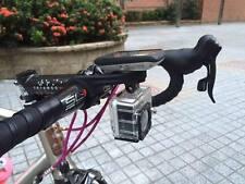 Bike Bar Computer Mount Combo For Garmin Edge GPS GoPro Camcorder CNC Red Bracke