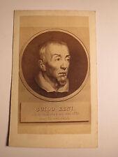Guido Reni - Bologna - Portrait - Kunstbild / CDV