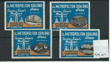 Wbc. - cendrillon/poster-CM01-états-unis-metropolitan oakland