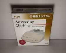 1990s Bellsouth  1129 Telephone Answering Machine Many Features, call screening