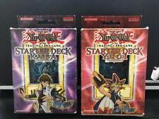 YuGiOh SKE Kaiba & SYE Yugi Evolution Starter Decks English Edition