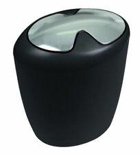 Etna Black Trash Can Swiss Branded Product Swiss Design Black
