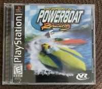 VR Sports Powerboat Racing Sony PlayStation 1 1998 CIB Complete PS1 Video Game