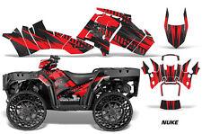 Polaris Sportsman WV850 ATV Graphic Kit Wrap Quad Accessories WV Decals NUKE RED