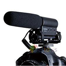 Micrófono De Condensador Estéreo Para Nikon D90 D610 D750 D800 D5300 D7000 D7100 D7200