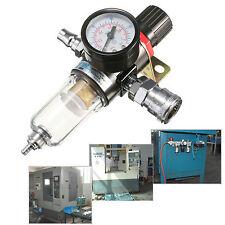 """Séparateur d'eau filtrante AFR-2000 W Régulateur Gauge Compresseur d'air 1/4 """""""
