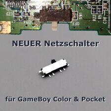 Ersatz AN / AUS Schalter für GameBoy Color & Pocket Netz Reparatur Power Switch