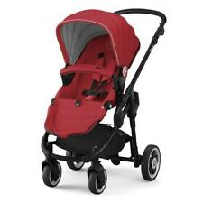 Kiddy EvoGlide1 Evo Glide Pram Stroller Pushchair Push Chair Ruby Red Carrier