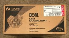 NEW LITHONIA LIGHTING DoM LED RECESSED DOWNLIGHT 277v 900 lumen 3500k dim housin