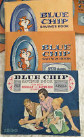 Vintage Blue Chip Stamp Lot Of 53 Books Complete & Incomplete Ephemera TV Thrift