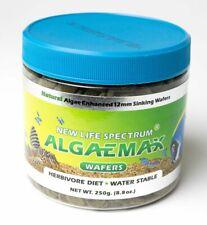 NEW LIFE SPECTRUM ALGAEMAX WAFERS FOOD 250 gram 12 mm  SINKING DISKS