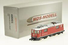 "MDS-Modell 60001 Spur N RhB-Ellok Ge4/4II 612 ""Thusis"" analog"