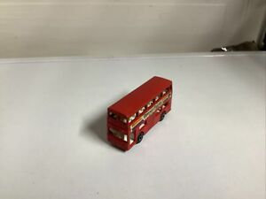 Matchbox Superfast No.17 The Londoner 1972 Lesney Red London Bus Made In England