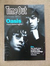 OASIS TIME OUT ORIGINAL 90'S PROMO POSTER.