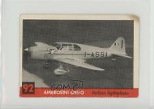 1956 Topps Jets #92 Ambrosini Grifo Non-Sports Card 2a5
