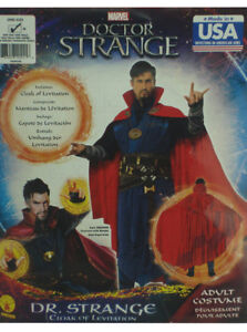 Doctor Strange Cloak Of Levitation Costume Men' Adult Size Marvel Comics New