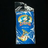 DISNEY STORE 2002 APRIL FOOLS DAY 12 MONTHS OF MAGIC GOOFY DRESSED AS MICKEY PIN