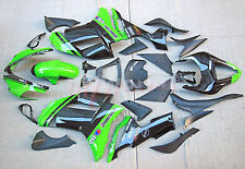 For kawasaki ninja zx-6r 07-08 Injection Molding Fairing Bodywork set new green