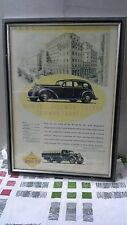Framed Vintage Advertising Poster Australasian Pictorial Annual Oct 1 1935