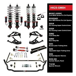 QA1 Level 3 Coilover Suspension Kit,fits 1978-1993 Chevrolet Caprice,Impala,Donk