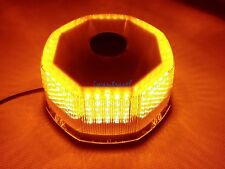 240 LED BEACON LIGHT VEHICLE MAGNETIC EMERGENCY WARNING STROBE LIGHT AMBER