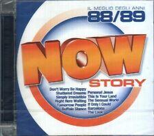 AA.VV. DURAN DURAN  NOW STORY IL MEGLIO DEGLI ANNI 88/89 DOPPIO CD SIGILLATO