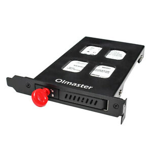 2.5inch HDD/SSD Bay Hot Swap Hard Drive Mobile Rack Backplane with Lock - Black