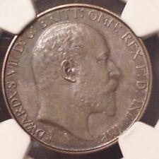 - 1902 Great Britain Edward VII One Florin  Choice Matte Proof NGC PF62 MATTE