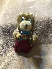 New listing Vintage Mouse Wind-up Toy Clapping Cymbals