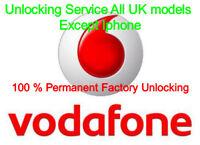 Vodafone Generic UK Unlocking Service For Nokia Lumia, Sony, Blackberry & HTC Im