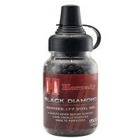 Hornady Black Diamond .177 Cal / 4.5mm 1500ct. Anodized Steel Airgun BBs 2211056