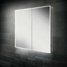 HIB EXOS 80 80 X 70 IIluminated LED Mirror Cabinet 53800