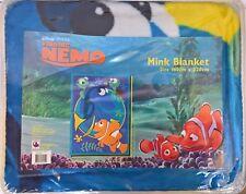 ~ Finding Nemo - MINK BED SPREAD BLANKET RUG SINGLE