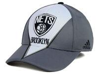 Brooklyn Nets adidas NBA Slasher Flex-Fit Men's Fitted Cap Hat - Size: L/XL