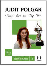 Judit Polgar - From GM to Top 10 (Chess Book)