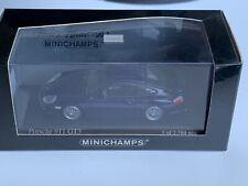 Porsche 911/996 GT3 Indigo Blue 1:43 Scale By MiniChamps