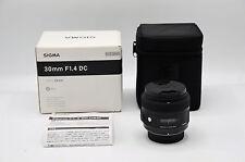 Sigma Art 30mm F/1.4 HSM DC Prime Lens Nikon Mount