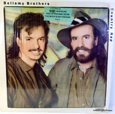 BELLAMY BROTHERS-CRAZY FROM THE HEART MCA 1986 LP  33rpm