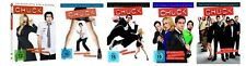 Chuck Staffel 1-5 (1+2+3+4+5) DVD Set NEU OVP Die komplette Serie