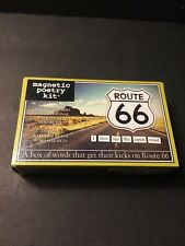 Route 66 Magnetic Poetry Kit Fridge Magnets 200+ Words