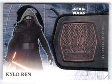 Star Wars The Force Awakens Series 2 Bronze Medallion #1 Kylo Ren