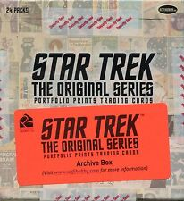 Star Trek TOS Portfolio Prints Empty Archive Box (No Cards)