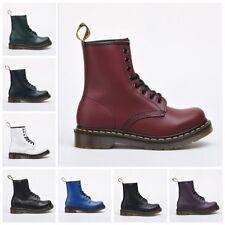 2018 Neu Dr.Martens Boots Stiefel Smooth 8 Eye Loch 1460z Lederstiefel